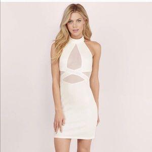 White/ cream Tobi Dress